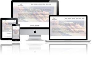 Darstellung der Webseite auf verschiedenen Geräten