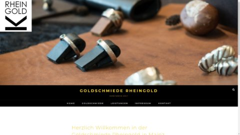 Projekt Goldschmiede Rheingold by Manthey Webdesign