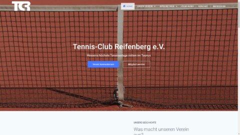 Projekt Tennisclub-Reifenberg by Manthey Webdesign