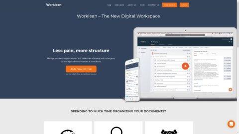 Projekt Worklean by Manthey Webdesign